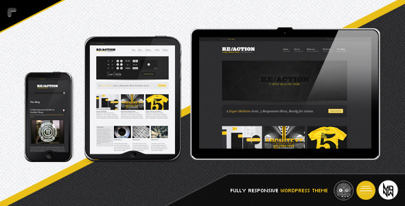 Reaction WP Theme v1.6.1 : Responsive, Rugged, Bold by Themeforest