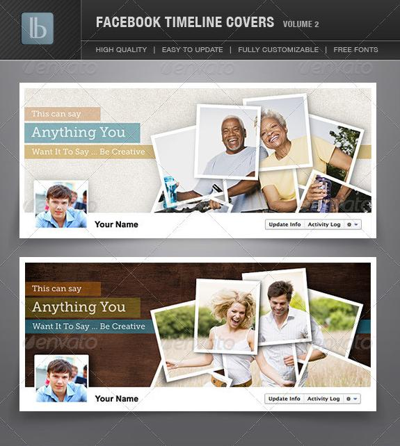 2012 Facebook Timeline Covers | Volume 2 GraphicRiver