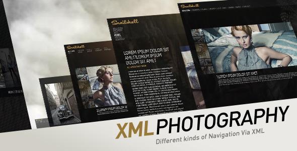 2012 XML Photography Template V2 – Activeden