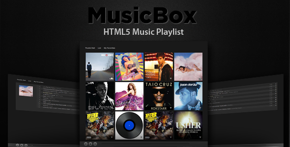 CodeCanyon – MusicBox HTML 5 Music Player   ALL-Themes