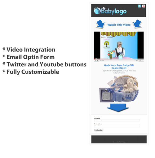 FACEBOOK IFRAME SQUEEZE PAGE TEMPLATE