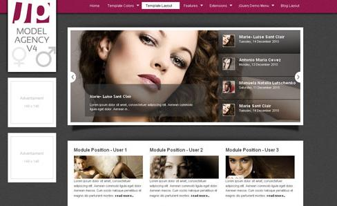 JP Model Agency v4 for J1.5 & J2.5 template 2012
