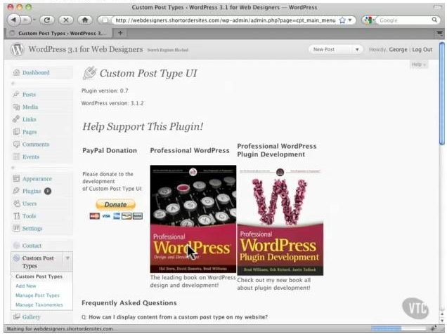 VTCtraining: WordPress 3.1 for Designers Tutorials