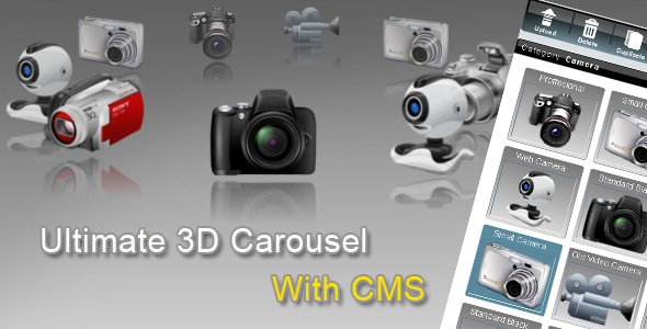 Codecanyon Ultimate 3d Carousel Cms Full
