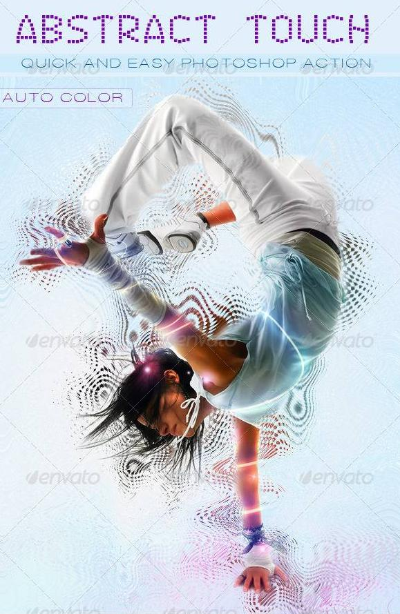 Graphicriver Abstract Touch Photoshop Action