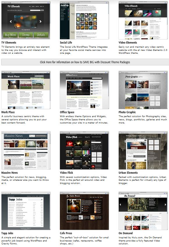 Press75 – 12 Premium WordPress Themes