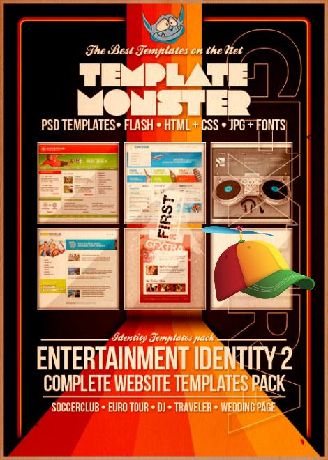Template Monster Entertainment Identity 2