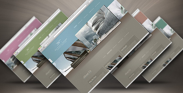 ThemeForest Da Vinci Theme – One Page Portfolio 12 Skins in 1