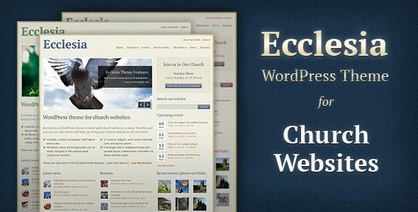 ThemeForest Ecclesia v2.1 – WordPress Theme for Church Websites