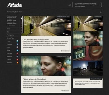 Attache v1.2.7 WordPress Theme by Press75