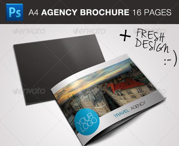GraphicRiver – Travel / Business Brochure 2012