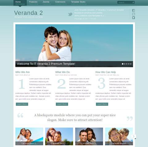 IT Veranda 2 for Joomla 2.5 Template