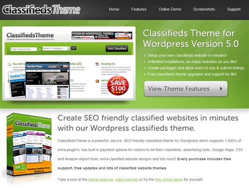 PremiumPress ClassifiedsTheme v7.x – WordPress Theme NULLED