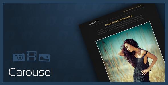 ThemeForest Carousel v1.1.1 – Premium Photo WordPress Theme