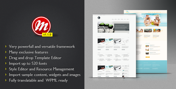 Themeforest MultiToool – WordPress Theme FrameWork v1.1.9