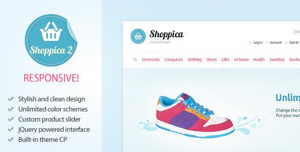 ThemeForest – Shoppica Premium Theme v1.0.15 & 2.1.1 for OpenCart 1.5.3