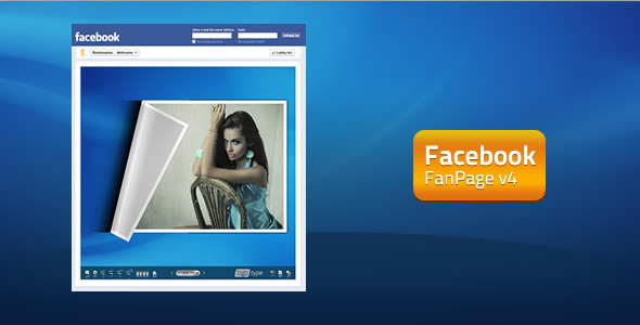 ActiveDen – FaceBook FanPage v4 – FlipBook