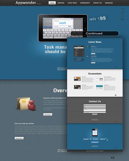 Shape5 Appwonder Joomla 2.5 template