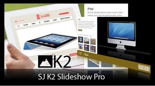 SJ K2 Slideshow Pro v1.7 – Joomla! Module 2.5 Extensions
