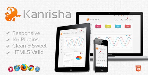 ThemeForest Kanrisha – Premium HTML5 Responsive Admin Template