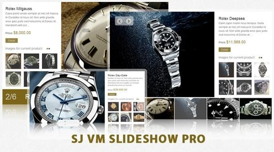 SJ VM Slideshow Pro For Joomla 2.5 Extensions