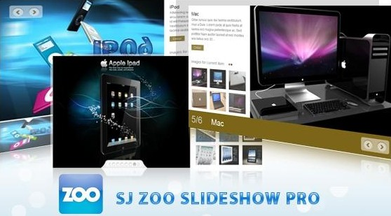 SJ ZOO Slideshow Pro For Joomla 2.5 Extensions