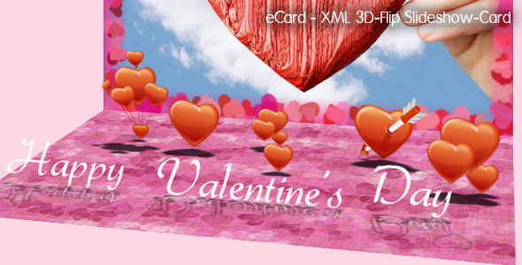 ActiveDen – 3D-Flip Slideshow eCard XML (Incl XML files)