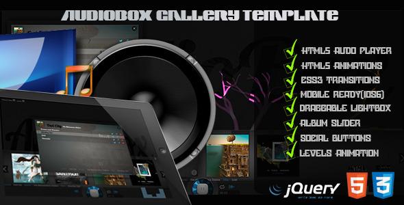AudioBox – HTML5 Audio Gallery Template