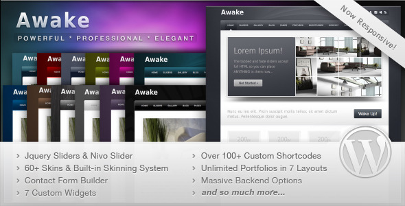 Awake – Powerful Professional WordPress Theme V3.0