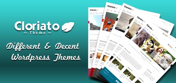 Cloriato WordPress Theme V2.0
