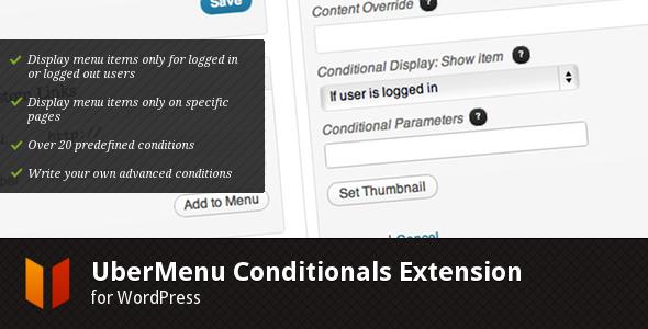 CodeCanyon UberMenu – Conditionals Extension