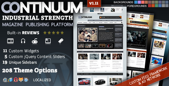 Continuum v1.13 – Magazine WordPress Theme