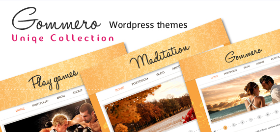 Gommero WordPress Theme v1.4