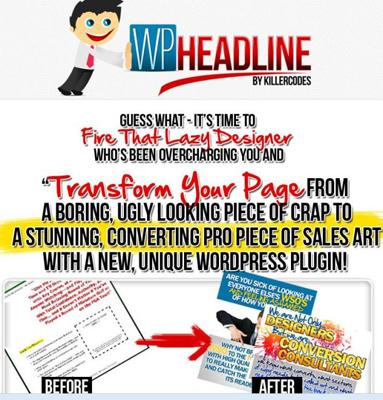 Headline WordPress Graphics Plugin V1.0.9