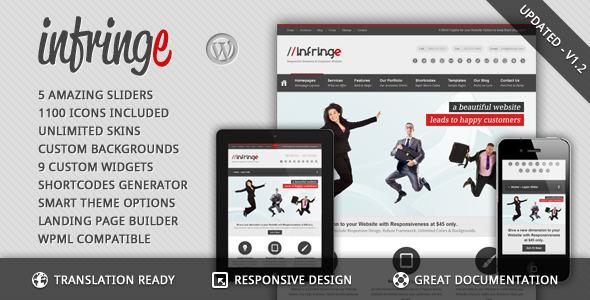 Infringe – Responsive Business & Corporate WP v1.2