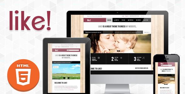 Like! :: Responsive Multipurposes HTML5/CSS3 Theme