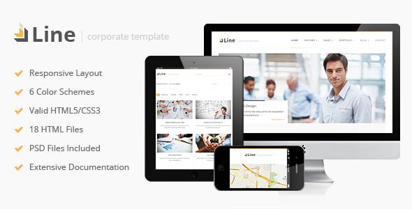 Line – Responsive Corporate HTML Template
