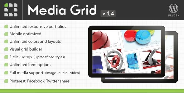 Media Grid – WordPress Responsive Portfolio V1.4