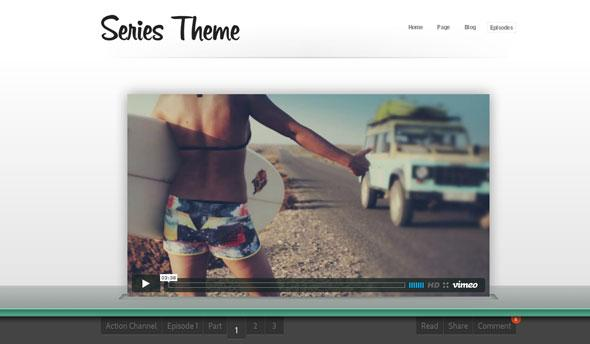 Press75 – Series Theme For WordPress
