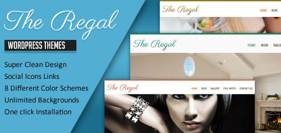 Regal v1.3 Responsive WordPress Theme