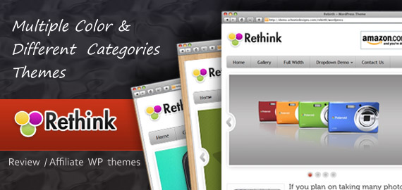 Rethink v.1.2 – Product Review / Affiliate WordPress Theme