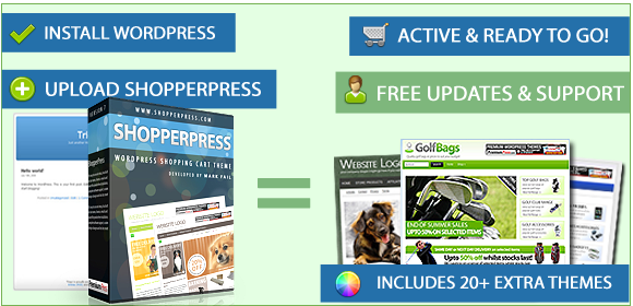 ShopperPress v7.0.9.7 WordPress Shopping Cart