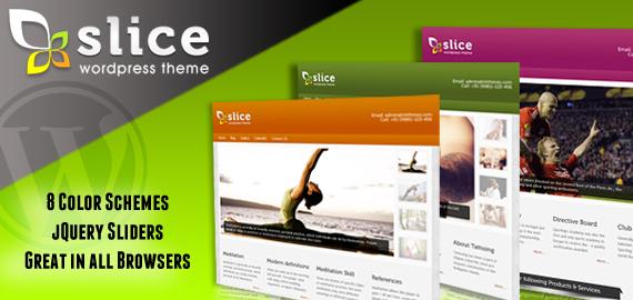 Slice Premium WordPress Theme V1.2
