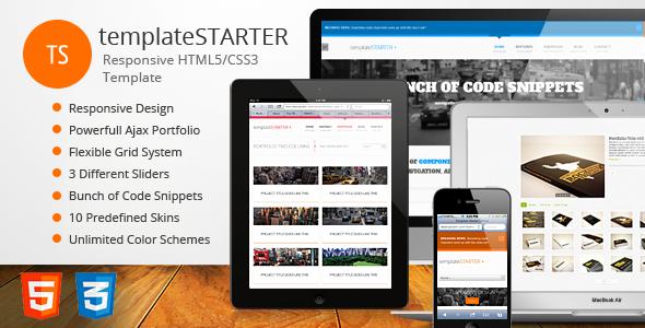 templateSTARTER – Responsive HTML5/CSS3 Template