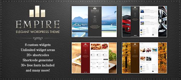ThemeForest – Empire WordPress Theme 2.1