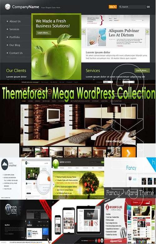 Mega WordPress Collection Themeforest