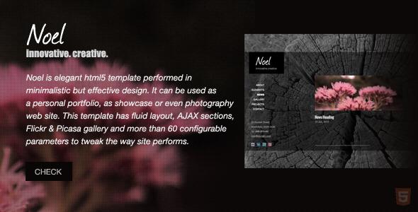Themeforest – Noel – Onepage AJAX Template