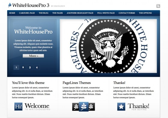 WhiteHouse Pro v3.0.1 WordPress Theme