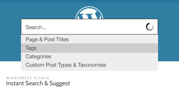 WordPress Instant Search and Suggest v1.7