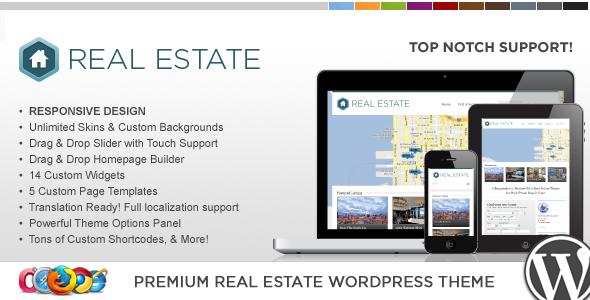 WP Pro Real Estate 3 Responsive WordPress Theme v1.3.3